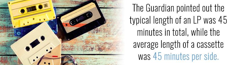 Cassette Tape length