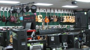 Pawn shop for musical instruments