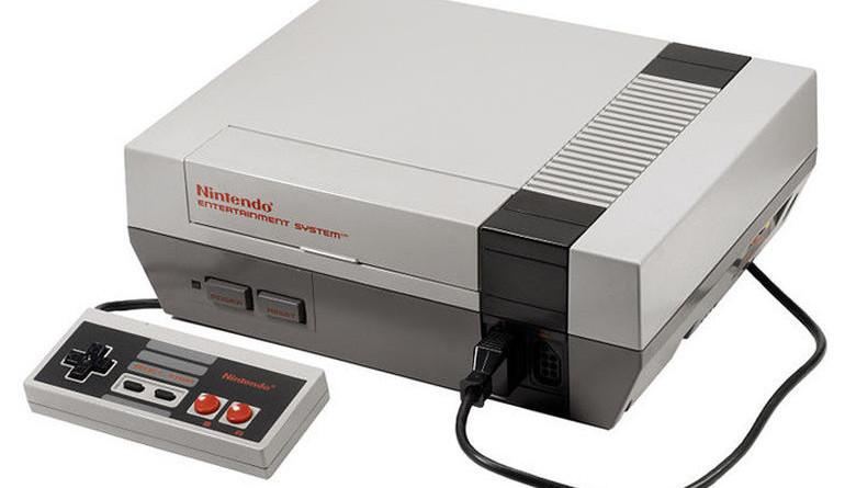 Nintendo retro video game console