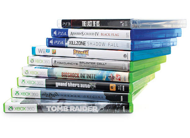 Various video games