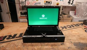 Turning an Xbox one into a laptop