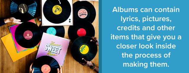 album benefts