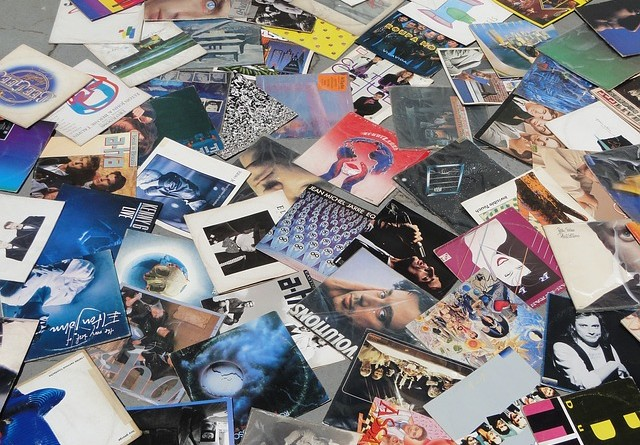 Vinyl's across the floor in guide to record collecting
