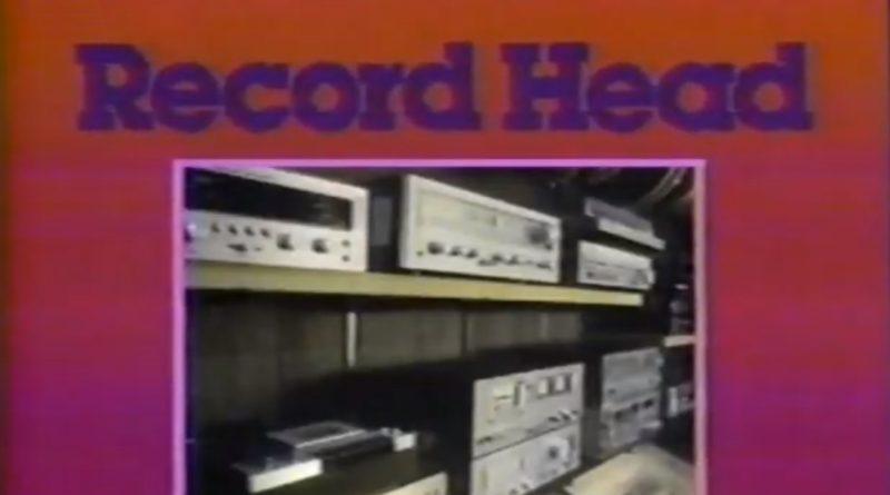Record Head retro picture of instruments