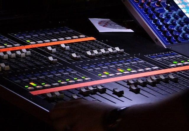 EQ settings on a musical device