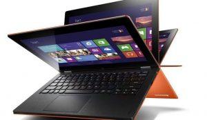 orange convertible laptop