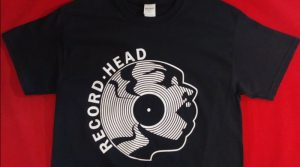 Official Record Head t-shirts