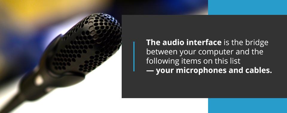 Record Head Audio Interface
