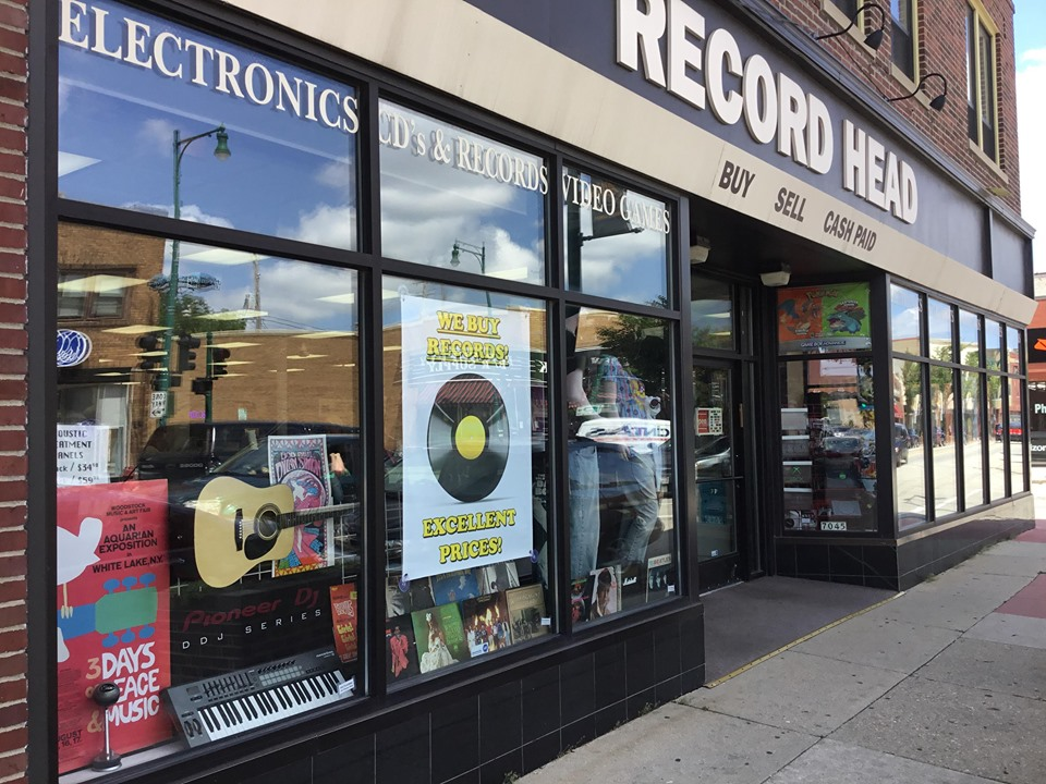 Record Head Store Front