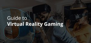 People playing virtual reality games