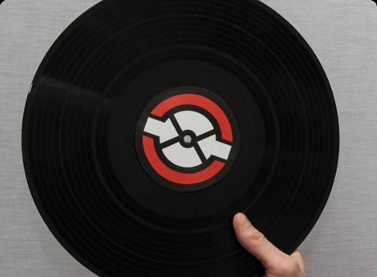 A disc record