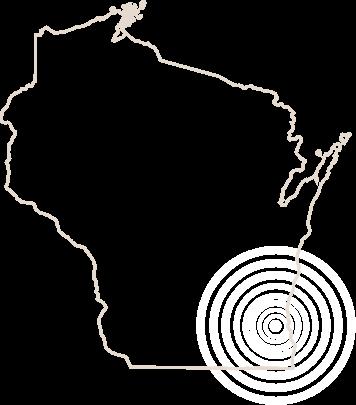 Wisconsin outline
