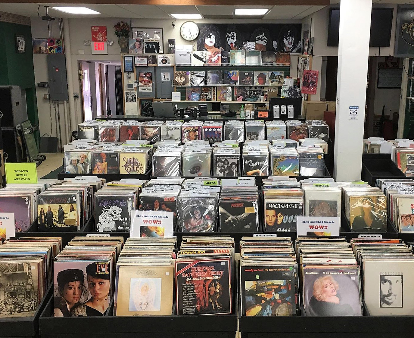 thousands for records for sale