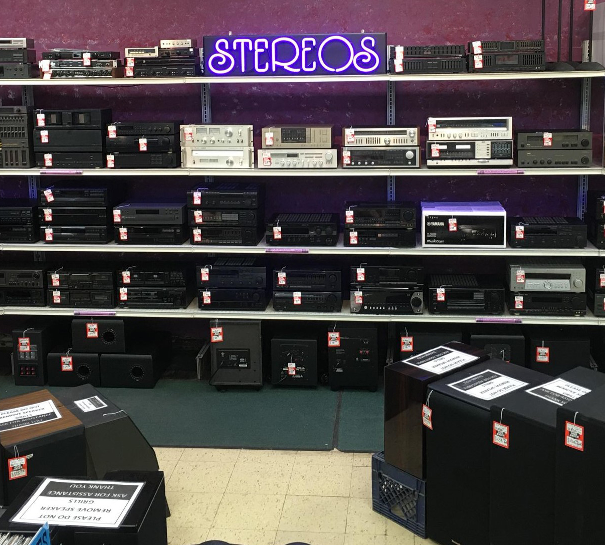 stereos for sale