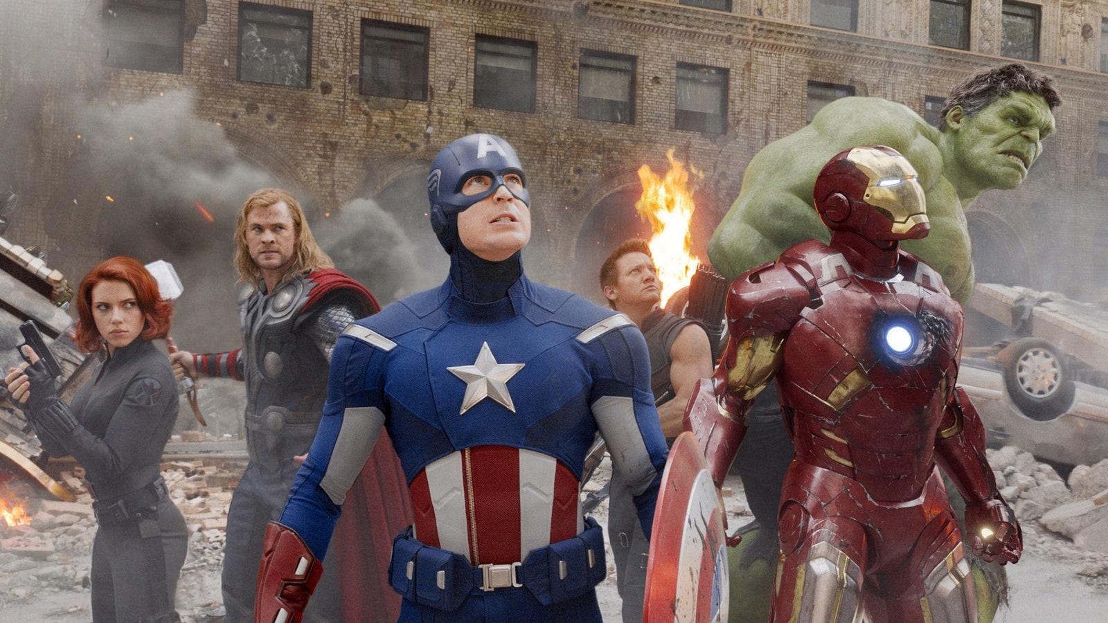 Avengers still shot